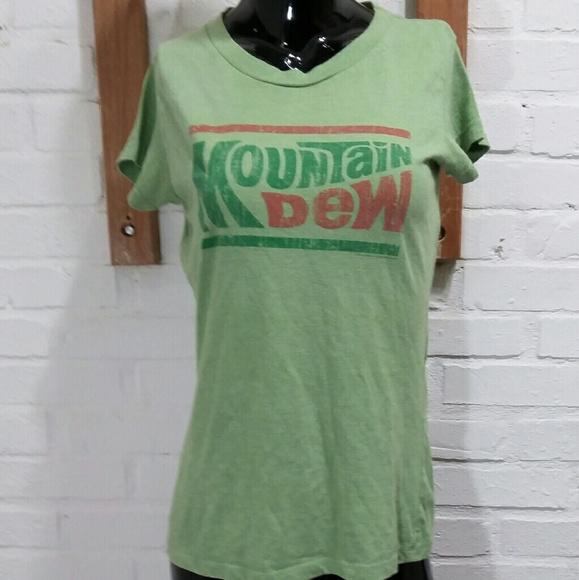 mountain dew Tops - Girls Mountain Dew Shirt